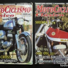 Coches y Motocicletas: REVISTAS MOTOS- MOTOCICLISMO CLASICO Nº14 / Nº16. Lote 136549254