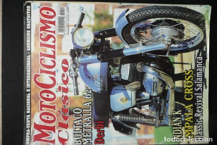 Coches y Motocicletas: REVISTAS MOTOS- MOTOCICLISMO CLASICO Nº14 / Nº16 - Foto 2 - 136549254