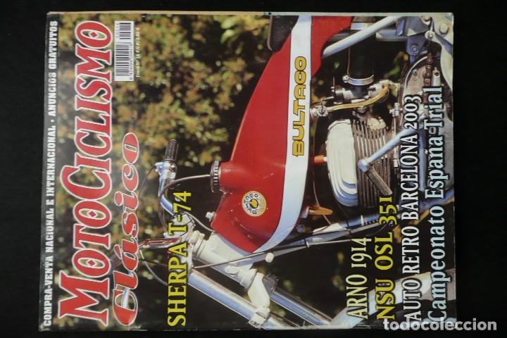 Coches y Motocicletas: REVISTAS MOTOS- MOTOCICLISMO CLASICO Nº14 / Nº16 - Foto 3 - 136549254