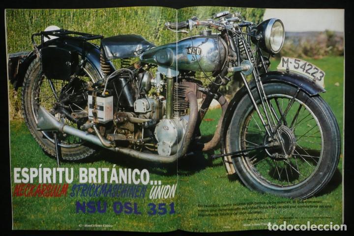 Coches y Motocicletas: REVISTAS MOTOS- MOTOCICLISMO CLASICO Nº14 / Nº16 - Foto 7 - 136549254