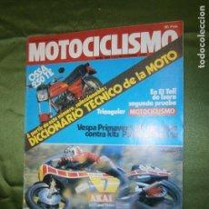 Coches y Motocicletas: (F.1) REVISTA MOTOCICLISMO Nº 684 AÑO 1980 ( ..ASPAR.. ENGRANDECIÓ EL TRIUNFO DE TORMO . Lote 136558990