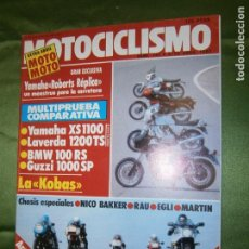 Coches y Motocicletas: (F.1) REVISTA MOTOCICLISMO Nº747 AÑO 1982 (DUCATI ..ON THE ROCKS.. . Lote 136559526