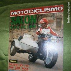 Coches y Motocicletas: (F.1) REVISTA MOTOCICLISMO Nº 544 AÑO 1978 ( POSTER DE MARTIN TERRA (BULTACO 350). Lote 136560134