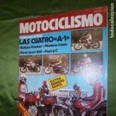 Coches y Motocicletas: (F.1) REVISTA MOTOCICLISMO Nº 652 AÑO 1980 ( COMO CONSECUENCIA DE LA CAÍDA DE KATAYAMA, OPORTUNIDAD-. Lote 136562014