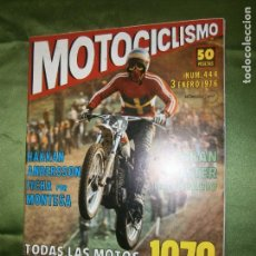Coches y Motocicletas: (F.1) REVISTA MOTOCICLISMO Nº 444 AÑO 1976 ( LAS INTERIORIDADES DE MORBIDELLI AL DESCUBIERTO). Lote 136563202