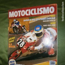 Coches y Motocicletas: (F.1) REVISTA MOTOCICLISMO Nº 1126 AÑO 1989 ( TRIAL DE LAS NACIONES, BERTIX(BELGICA) EL QUINTO TITU-. Lote 136563890