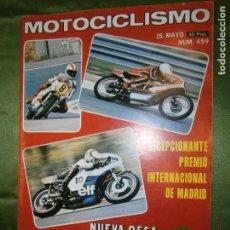 Coches y Motocicletas: (F.1) REVISTA MOTOCICLISMO Nº 459 AÑO 1976 (5ª PRUEBA PUNTUABLE PARA EL CAMPEONATO DE ESPAÑA-. Lote 136564610