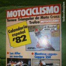 Coches y Motocicletas: (F.1) REVISTA MOTOCICLISMO Nº 733 AÑO 1981 (UNA ENDURO ..MILITAR..MUY INTERESANTE COMO TRAIL. Lote 136564978