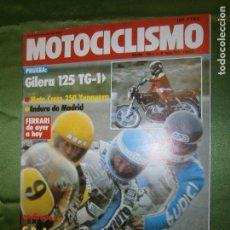 Coches y Motocicletas: (F.1) REVISTA MOTOCICLISMO Nº 751 AÑO 1982 (ALMANSA: XX TROFEO DE VELOCIDAD FIESTAS MAYORES SÁNCHEZ-. Lote 136565402
