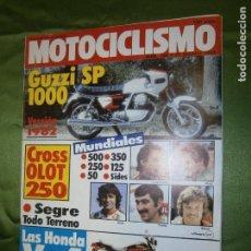 Coches y Motocicletas: (F.1) REVISTA MOTOCICLISMO Nº 746 AÑO 1982 (IX ENDURO DEL SEGRE, MÁS ..MARSI.. Y VILA SE DESTACAN -. Lote 136565926