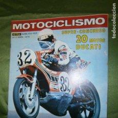 Coches y Motocicletas: (F.1) REVISTA MOTOCICLISMO Nº 454-455 AÑO 1976 (2ª PRUEBA PUNTUABLE PARA EL TROFEO JUNIOR DE 125 C.C. Lote 136567602