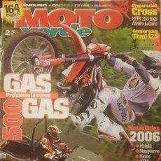 Coches y Motocicletas: REVISTA MOTO VERDE N° 324 AÑO 2005 ED.7.COMPA: TRAIL 125, CROSS KTM 250SXS,GASGAS TXT RAGA.. Lote 136640170