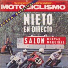 Coches y Motocicletas: REVISTA MOTOCICLISMO 2ª QUINCENA MAYO 1972. Lote 136721162