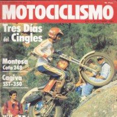 Coches y Motocicletas: REVISTA MOTOCICLISMO 18 OCTUBRE 1980 MONTESA 248 . Lote 136826618