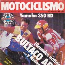 Coches y Motocicletas: REVISTA MOTOCICLISMO 25 OCTUBRE 1980 PRUEBA YAMAHA RD 350 . Lote 136826722