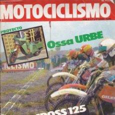 Coches y Motocicletas: REVISTA MOTOCICLISMO 11 OCTUBRE 1980 PRUEBA OSSA URBE. Lote 136826778