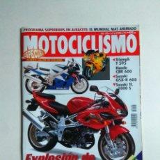 Coches y Motocicletas: REVISTA MOTOCICLISMO Nº 1493 YAMAHA TRX TDM TRIUMPH 900 595 HONDA CBR 600 SUZUKI GSX R 600 TL 1000. Lote 137125518
