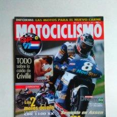 Coches y Motocicletas: REVISTA MOTOCICLISMO Nº 1532 BMW R 1200 YAMAHA BRONCO 250 SUZUKI ST GSX APRILIA SUMA HONDA CBR . Lote 137139318