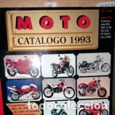 REVISTA MOTO CATALOGO 1993 NUMERO 1 * 43 (Coches y Motocicletas - Revistas de Motos y Motocicletas)
