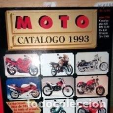 Coches y Motocicletas: REVISTA MOTO CATALOGO 1993 NUMERO 1 * 43. Lote 137217074