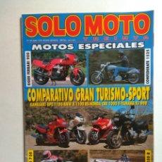 Coches y Motocicletas: REVISTA SOLO MOTO 30 Nº 149 EIGER FERRARI KAWASAKI GPZ BMW R HONDA CBR YAMAHA XJ VESPA GUZZI HARLEY. Lote 137409402