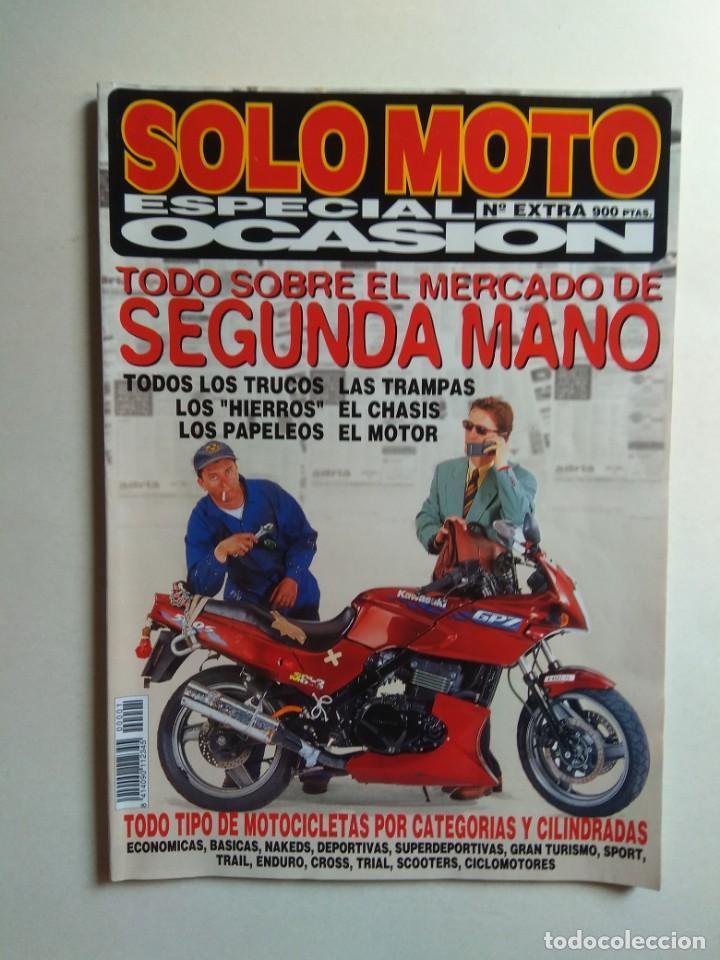 Revista Solo Moto Especial Ocasion Papeleos T Comprar Revistas Antiguas De Motos Y Motocicletas En Todocoleccion 137417354