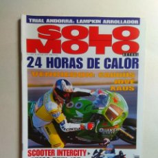 Coches y Motocicletas: REVISTA SOLO MOTO Nº 1101 APRILIA PEGASO BMW F650 KYMCO DINK HONDA FORESIGHT DERBI CARDUS IMOLA. Lote 137419318