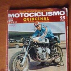 Coches y Motocicletas: MOTOCICLISMO 1ª QUINCENA SEP 1972. Lote 137466798