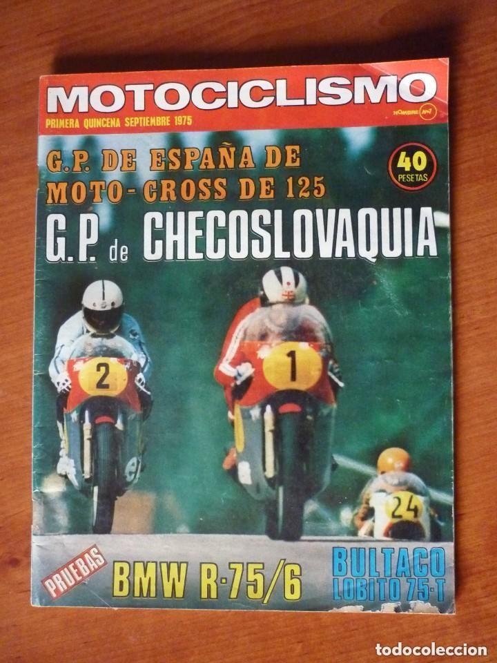 MOTOCICLISMO 1ª QUINCENA SEP 1975 (Coches y Motocicletas - Revistas de Motos y Motocicletas)