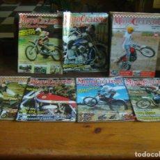 Coches y Motocicletas: LOTE 7 REVISTAS MOTO CICLISMO CLASICO PURSANK MK8 OSSA 250T NSU RUDGE MULTI FLH MAVISA COTA . Lote 137994278
