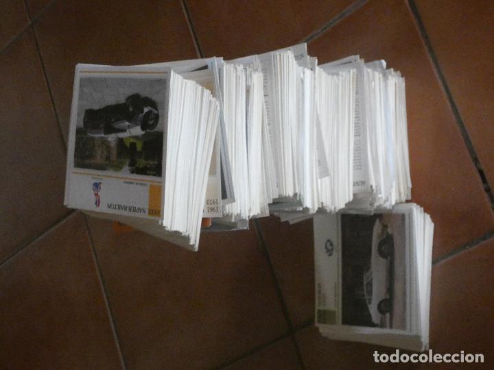 LOTE DE CERCA DE 2000 FICHAS COCHES DE COLECCION PLANETA DE AGOSTINI AÑOS 90 (Coches y Motocicletas - Revistas de Motos y Motocicletas)