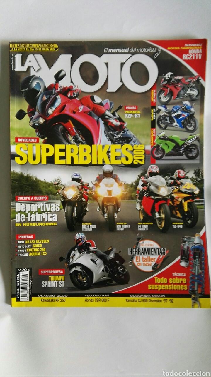 REVISTA LA MOTO OCTUBRE 2005 SUPERBIKES (Coches y Motocicletas - Revistas de Motos y Motocicletas)