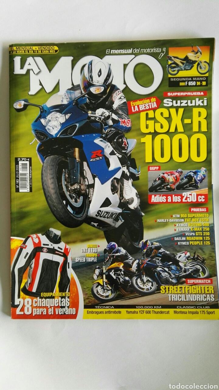 REVISTA LA MOTO JULIO 2005 GSX-R 1000 (Coches y Motocicletas - Revistas de Motos y Motocicletas)