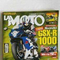 Coches y Motocicletas: REVISTA LA MOTO JULIO 2005 GSX-R 1000. Lote 138524846