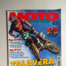 Coches y Motocicletas: REVISTA MOTO VERDE Nº 225 HONDA CRE YAMAHA YZM HUSQVARNA TE RENAULT 5 MAXI TURBO COLOMER . Lote 138719242