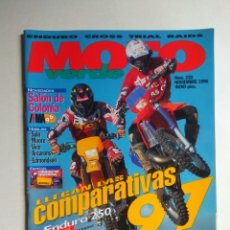 Coches y Motocicletas: REVISTA MOTO VERDE Nº 220 SUZUKI RM TM 125 YAMAHA YZ GAS GAS JTX ENDURO CROSS BETA TECNO KTM EXC. Lote 138719686