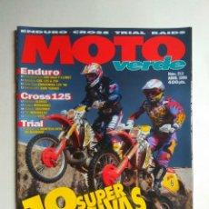 Coches y Motocicletas: REVISTA MOTO VERDE Nº 213 HONDA CRE TM MONTESA COTA GAS GAS KAWASAKI KX SUZUKI RMX HONDA YAMAHA YZ. Lote 138756326