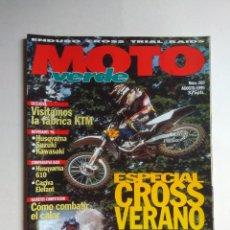 Coches y Motocicletas: REVISTA MOTO VERDE Nº 205 YAMAHA YZ CAGIVA ELEFANT HUSQVARNA TE SCORPA BULTACO PURSANG FABRICA KTM. Lote 138765714