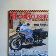 Coches y Motocicletas: REVISTA MOTOCICLISMO CLASICO Nº 193 BMW R100RS LA BAÑEZA NORTON MONTESA ENDURO 125 OSSA 250 SPORT. Lote 138796378