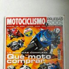 Coches y Motocicletas: REVISTA MOTOCICLISMO EDICIÓN FUERA DE SERIE PRUEBAS 2005. Lote 139246208