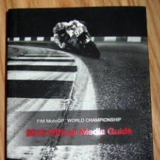 Coches y Motocicletas: GUIA MOTO GP 2015 FIM MOTOGP WORLD CHAMPIONSHIP OFFICIAL MEDIA GUIDE. Lote 139715566