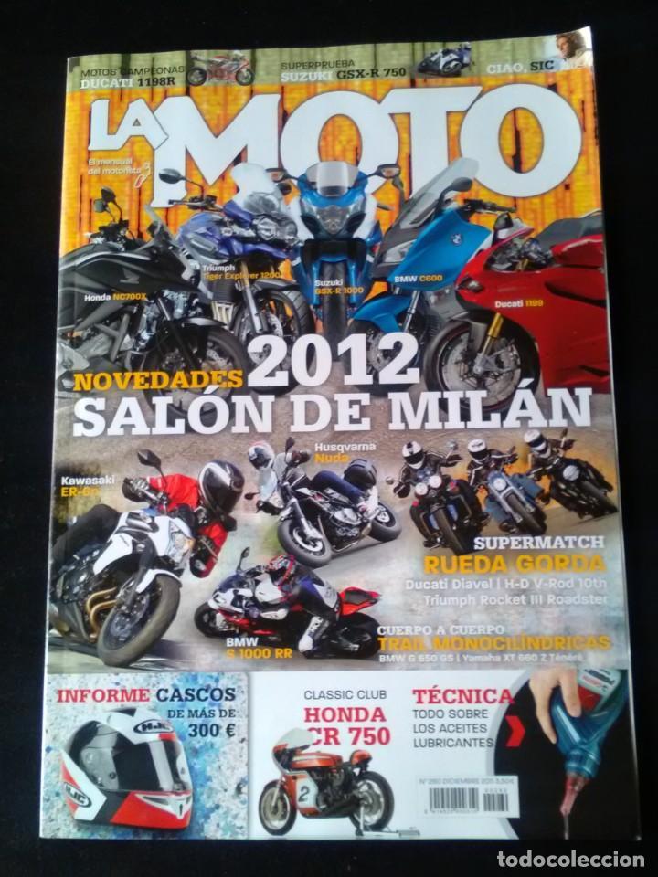 La Moto N 260 Bmw 1000 R Honda Crv 750 Ducati D Buy Old Magazines