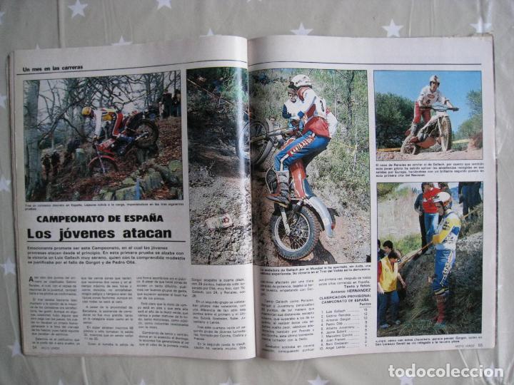 Coches y Motocicletas: REVISTA MOTO VERDE - Nº 57 - ABRIL 1983. - Foto 8 - 140950962