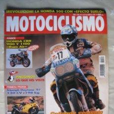 Coches y Motocicletas: REVISTA MOTOCICLISMO - Nº 1.509 - 21 AL 27 DE ENERO DE 1997.. Lote 192150580