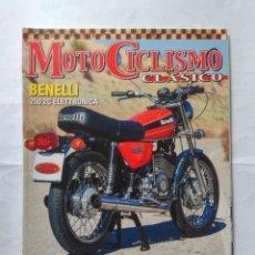 Coches y Motocicletas: REVISTA MOTOCICLISMO CLASICO Nº 184 BENELLI BMW K100 OSSA SUPER PIONNER BRITTEN DESCO MONET GOYON. Lote 141965034
