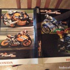 Coches y Motocicletas: ESPECTACULAR Y GRAN TOMO GG.PP. MOTOCICLISMO 2004 CAMPEONES DEL MUNDO 125,250 MOTO GP,MICHELIN.... Lote 142240762