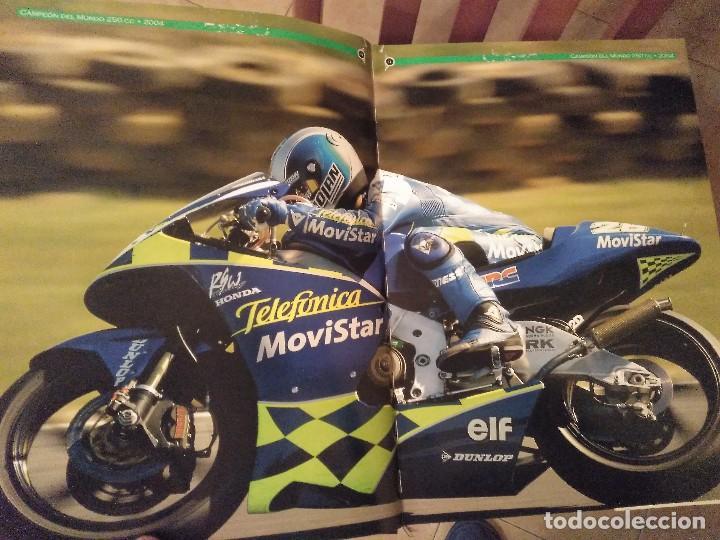 Coches y Motocicletas: ESPECTACULAR Y GRAN TOMO GG.PP. MOTOCICLISMO 2004 CAMPEONES DEL MUNDO 125,250 MOTO GP,MICHELIN... - Foto 5 - 142240762