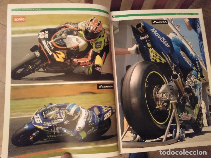Coches y Motocicletas: ESPECTACULAR Y GRAN TOMO GG.PP. MOTOCICLISMO 2004 CAMPEONES DEL MUNDO 125,250 MOTO GP,MICHELIN... - Foto 8 - 142240762