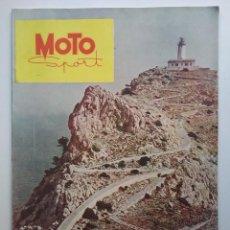 Coches y Motocicletas: MOTO SPORT REVISTA N° 10 1953 MOTOCICLETA MOTOCICLISMO . Lote 142499530
