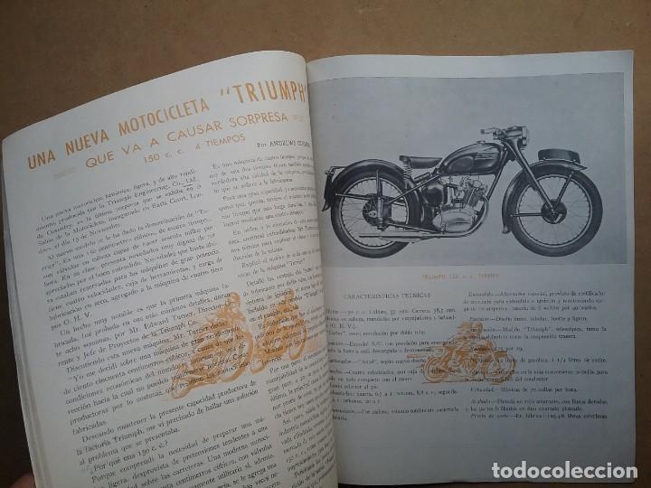 Coches y Motocicletas: MOTO SPORT REVISTA N° 10 1953 MOTOCICLETA MOTOCICLISMO - Foto 3 - 142499530